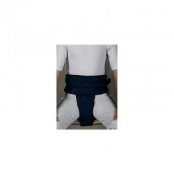 Cinturón acolchado abdominal y pélvico para silla .