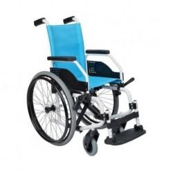 Silla de ruedas infantil de aluminio