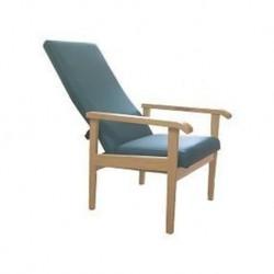 Sillón con respaldo alto reclinable