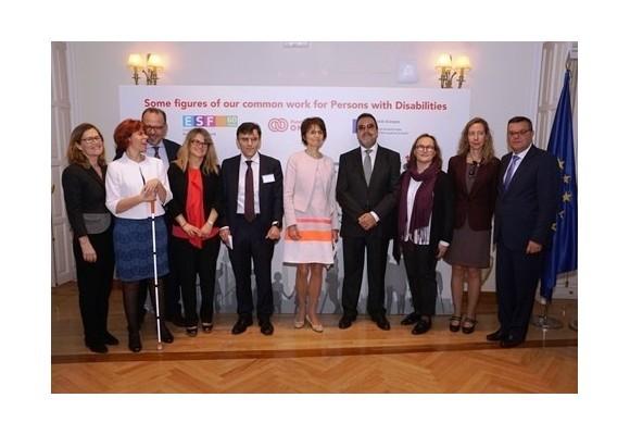 LA COMISARIA EUROPEA DE EMPLEO, CAPACIDADES Y MOVILIDAD LABORAL CONOCE LA LABOR DE FUNDACIÓN ONCE Y EL FONDO SOCIAL EUROPEO